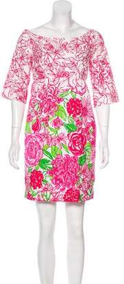 Lilly Pulitzer Printed Mini Dress