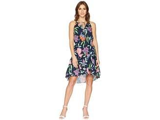 Taylor Sleeveless Floral Print Cotton Dress Women's Dress