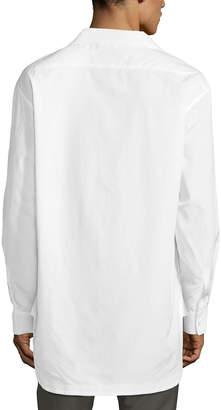 Valentino Men's Oversized Cotton Shirt