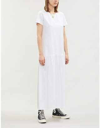 0699cd5e73418 Ninety Percent Dropped-waist organic cotton maxi dress