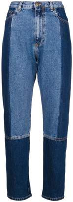 McQ vintage panelled jeans