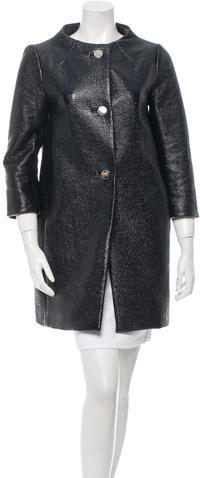 Kate Spade Kate Spade New York Textured Short Coat