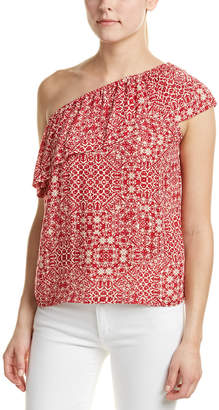 Velvet by Graham & Spencer One-Shoulder Top