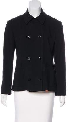 Dolce & Gabbana Long Sleeve Button-Up Jacket