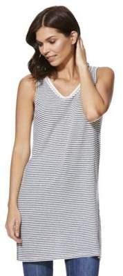 F&F Linen-Blend Striped Long Line Vest Top 10