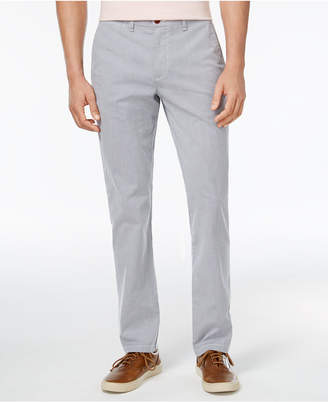 Tommy Hilfiger Men's Stretch Striped Chinos, Created for Macy's