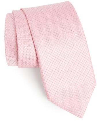 CanaliMen's Canali Micro Grid Silk Tie
