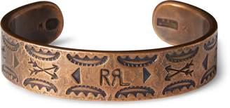 Ralph Lauren Stamped Copper Cuff