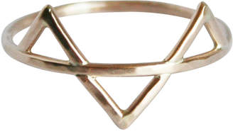 Stefanie Sheehan Jewelry Gold Three Spikes Ring