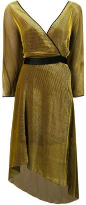 Diane von Furstenberg wrap front dress