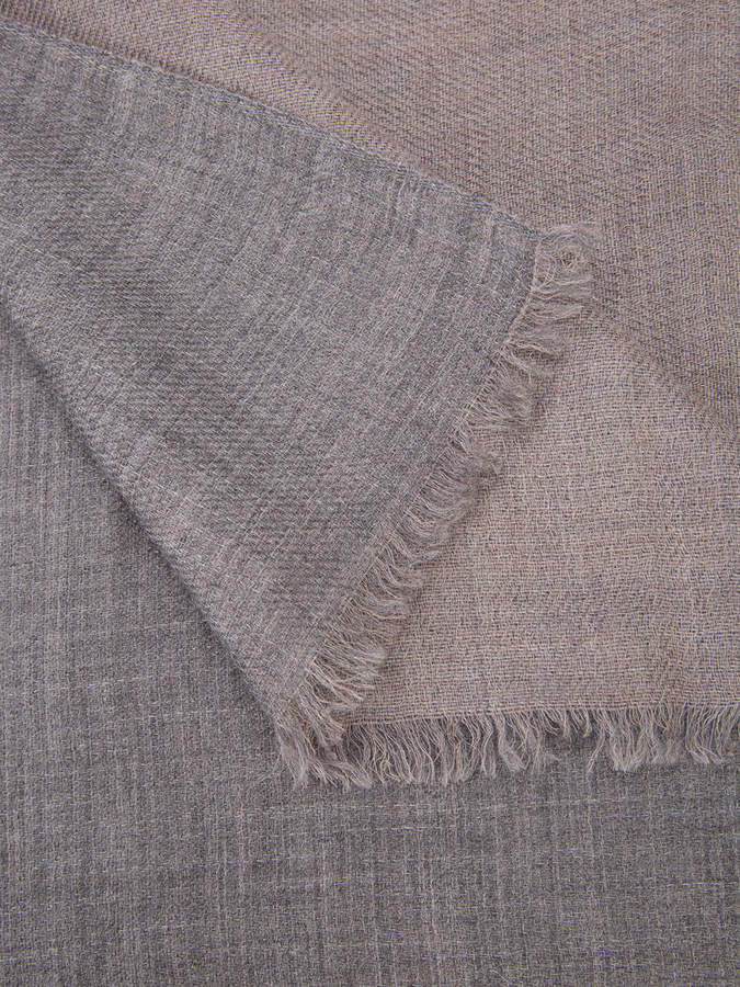 Denis Colomb frayed scarf