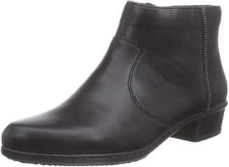 Rieker Womens Zipper Boots Size 37.0 EU