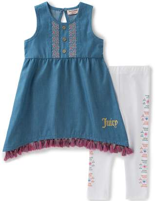 Juicy Couture Tunic/Legging Set
