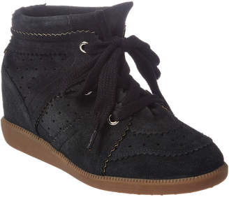 Isabel Marant Bobby Suede Wedge Bootie