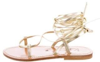 K Jacques St Tropez Thebes Wrap Sandals w/ Tags