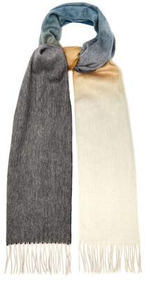 Co BEGG & Ombré cashmere scarf