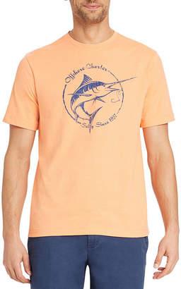 Izod Saltwater Short Sleeve Graphic T-Shirt