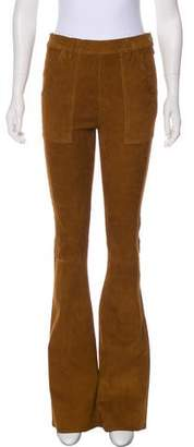 Frame Suede Flared Pants