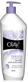 Olay Quench Body Lotion Shimmer with Pump