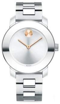 Movado Bold Analog Stainless Steel Bracelet Watch