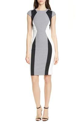 Karen Millen Colorblock Sheath Dress
