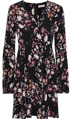 By Ti Mo Bytimo Floral-print Crepe De Chine Dress