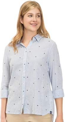 Izod Women's Weekend Linen-Blend Shirt
