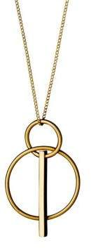 Pilgrim Geometric Necklace
