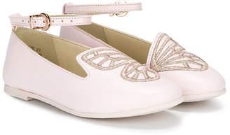 Sophia Webster Mini butterfly ballerinas