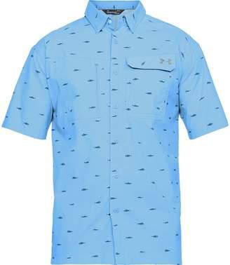 Under Armour Fish Hunter Short-Sleeve Plaid Shirt - Men's