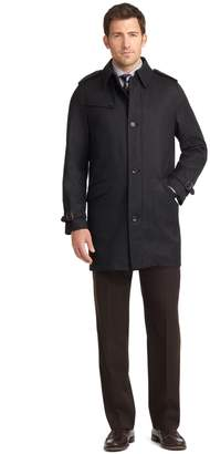 Brooks Brothers BrooksStorm Twill Trench Coat