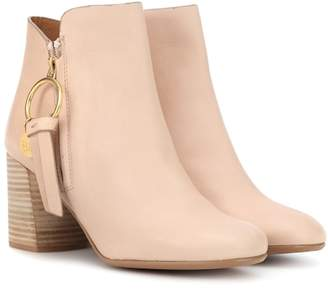 See by Chloe Louise Medium leather ankle boots
