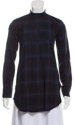 Helmut Lang Wool Long Sleeve Tunic