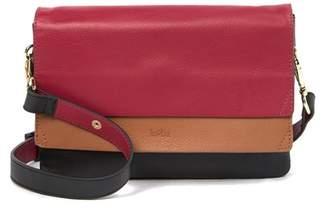 Kooba Colorblock Leather Shoulder Bag