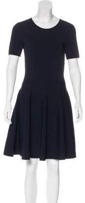 Akris Punto A-Line Knee-Length Dress