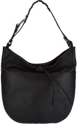 ED Ellen Degeneres Leather Brea Hobo Handbag