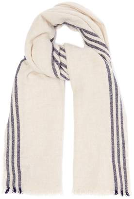 Co BEGG & Beauford Washed wool-blend scarf