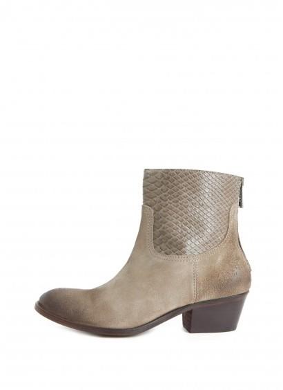 Zadig & Voltaire Boots Teddy Suede Cobra