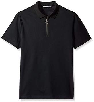 Vince Men's Zip Polo