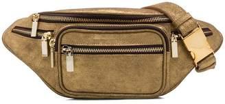 Manokhi metallic belt bag