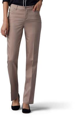 Lee Sateen Flat Front Pants