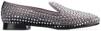 Alberto Gozzi studded loafers