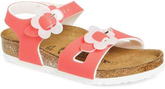 Birkenstock Rio Flowered Sandal