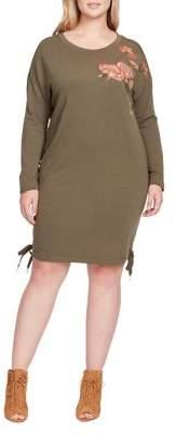 Jessica Simpson Plus Brunetta Embroidered Dress