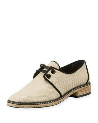 Tory Burch Fawn Canvas Espadrille Oxford