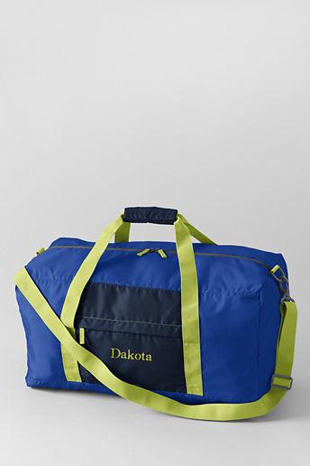 Lands' End Large Packable Duffel Bag