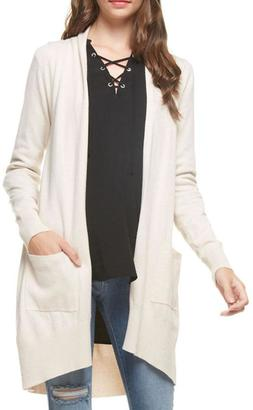 Dreamers Oatmeal Cardigan $45 thestylecure.com