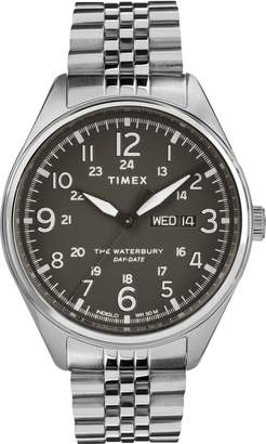 Timex R) Waterbury Bracelet Watch, 42mm