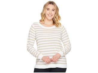 MICHAEL Michael Kors Size Lurex Stripe Sweater Women's Sweater