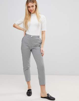 Girls On Film Tailored Pants in Houndstooth